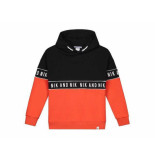 Nik & Nik Hooded sweater marvus oranje
