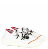 Giuseppe Zanotti Double lace sneaker wit