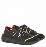 Giuseppe Zanotti Double lace sneaker zwart