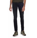 Nudie Jeans Co tight terry jeans zwart