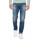 Butcher of Blue Butcher 1 destroyed jeans blauw