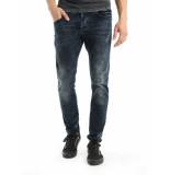 Chasin' Jeans ego slm raven blue blauw