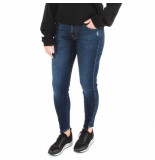 7 For All Mankind The skinny crop blauw