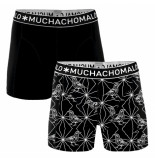 Muchachomalo Men 2-pack short varia zwart