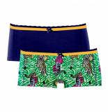 Muchachomalo Women 2-pack short tiger