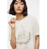 Anine Bing T-shirt ringo wit