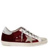 Golden Goose Deluxe Brand Sneakers superstar rood