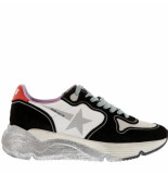 Golden Goose Deluxe Brand Sneakers running sole -zwart wit