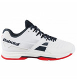 Babolat Tennisschoen sfx all court men white grey red wit