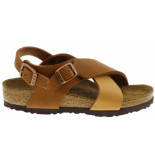 Birkenstock Guam strap spice light brown narrow bruin