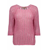 Smith & Soul Sweater heavy knt 0319 0338 476 blush roze