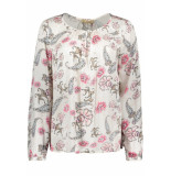 Smith & Soul Blouse allover print 0319 0307 5594 blush colorful roze