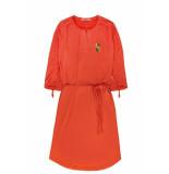 10 Feet Comfy dress with placket oranje