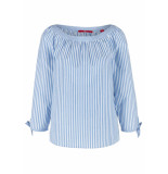 s.Oliver Gestreepte blouse 04899195094 53h0 blauw