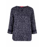 s.Oliver O shape blouse 04899195308 59a7 blauw