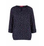 s.Oliver O shape blouse 04899195308 59c5 blauw