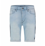 Pure White Korte broek w00 the steve blauw denim