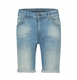 Pure White Korte broek w0307 the steve blauw denim