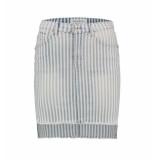 Bianco Jeans Korte rok 118381 poppy jasper blauw denim