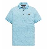 PME Legend Polo's ppss194863 blauw licht blauw