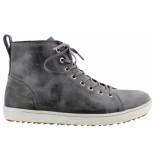Birkenstock Bartlett men grey natural leather narrow grijs