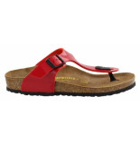 Birkenstock Gizeh tango red patent narrow rood