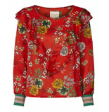 Lollys Laundry Blouse 19183-5067 jessie rood