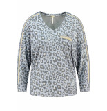 Key Largo Savanna v-neck wls00164 1216 light blue blauw
