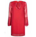 Tramontana Dress butterfly minimal prints rood