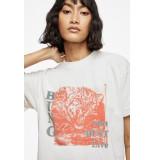 Anine Bing T-shirt georgie crëme ecru