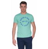 Scotch & Soda T-shirt met korte mouwen groen