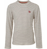 No Excess Sweater h yarn dyed stripe wit