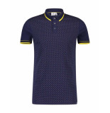 Blue Industry Polo polo blauw