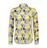 Blue Industry Overhemd shirt geel