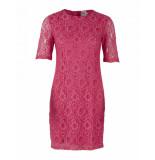 Saint Tropez Woven dress below knee rood