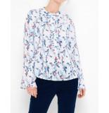 Saint Tropez Floral printed blouse wit