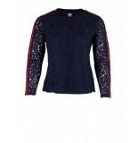 Saint Tropez Lace blouse blauw