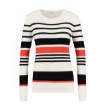 Aaiko Viola vis sweater 301 zwart