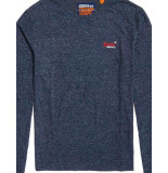 Superdry Orange-label-vintage-long-sleeve blauw