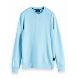 Scotch & Soda Amsterdams crew neck badge xxx blauw