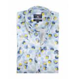 State of Art Shirt korte mouw overhemd met merklogo