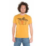 Tee Library T-shirt met korte mouwen geel