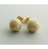 Christian Gouden oorstekers geel goud