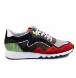 Floris van Bommel 16092/02 sneakers rood