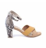 Kop en Staart Ks64 sandalen taupe