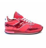 Floris van Bommel 85261/02 sneakers rood