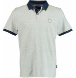 Chris Cayne Chc29s347.0000/9301 polo shirt met grijs
