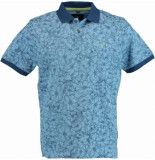 Chris Cayne Chc29s359.3145/2206 polo shirt met blauw
