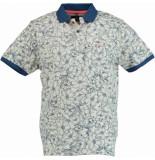 Chris Cayne Chc29s359.3145/5086 polo shirt met beige