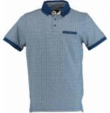 Chris Cayne Chc29s382.3117/2030 polo shirt met blauw